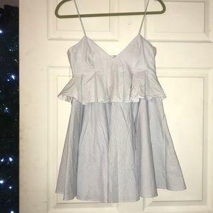 Zara Lightly Stripped Dress